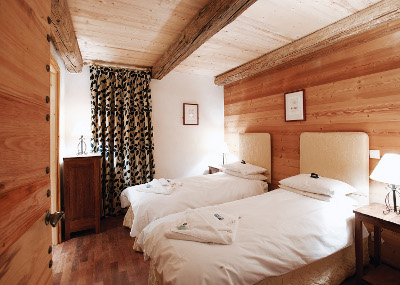 Bellevarde Lodge Bedroom