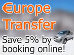 Europe Transfer, Save 5% by booking online