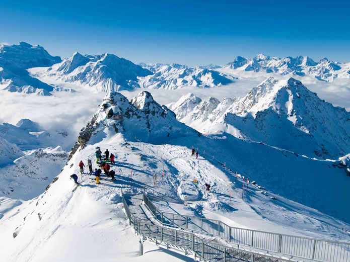 Independent Advice on Ski Accommodation in the Best Alpine Resorts ©VERBIER / Val de Bagnes - La Tzoumaz