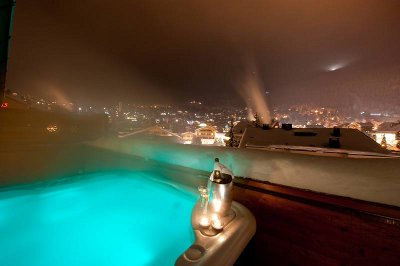 Hotel Cordee des Alpes Hot Tub