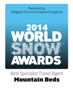 World Snow Awards - Winner Specialist Travel Agent